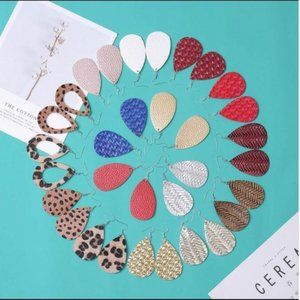 Leather Earrings - Assorted